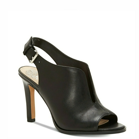 Vince Camuto Shoes - 🆕️Vince Camuto Cut-Out Slingback Leather Shooties